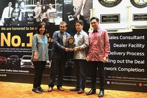 Mitsubishi Indonesia Raih Indeks Kepuasan Penjualan Terbaik 2019