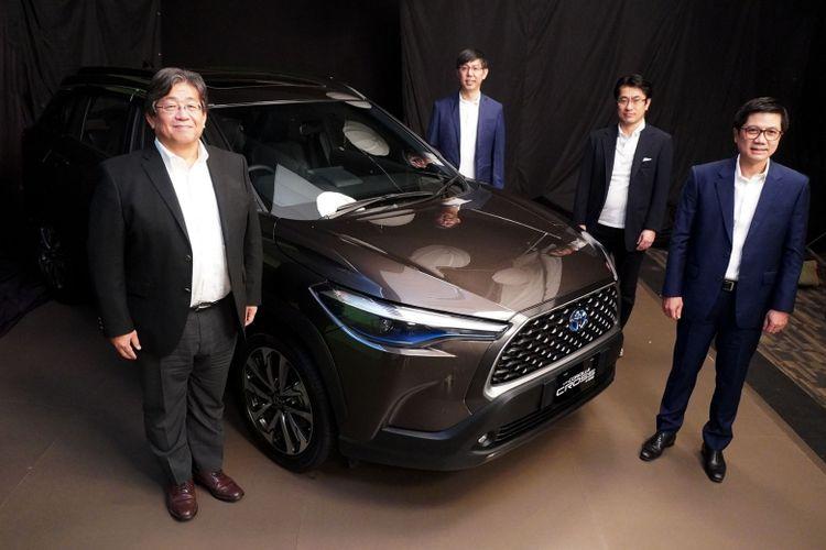 PT Toyota-Astra Motor (TAM) luncurkan All New Corolla Cross, produk terbaru Toyota di segmen Sport Utility Vehicle (SUV), Jakarta, Kamis (6/8) (Dok. Toyota)