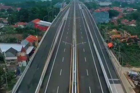 Tol BORR Simpang Yasmin-Kayu Manis Bogor Siap Dilintasi