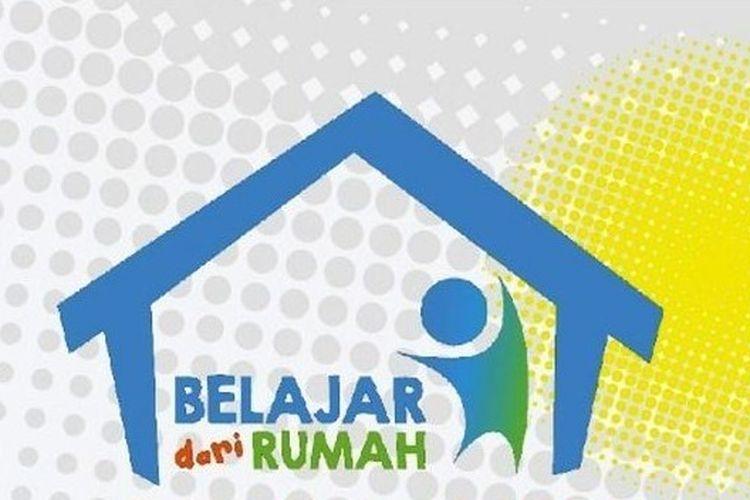 Ilustrasi program Belajar dari Rumah (BDR) di TVRI.