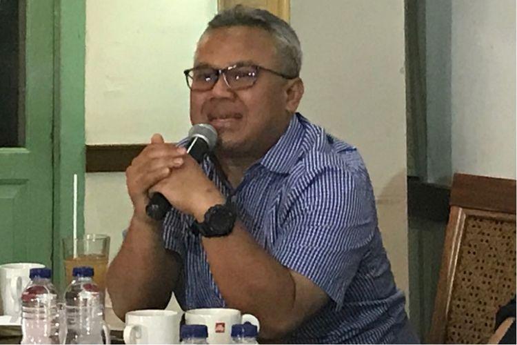 Ketua Komisi Pemilihan Umum Arif Budiman.