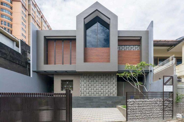 Eksterior rumah Dast Residence