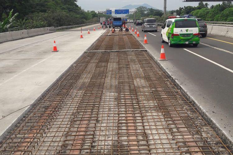 Ada perbaikan dan perkuatan konstruksi jembatan di Tol Jagorawi