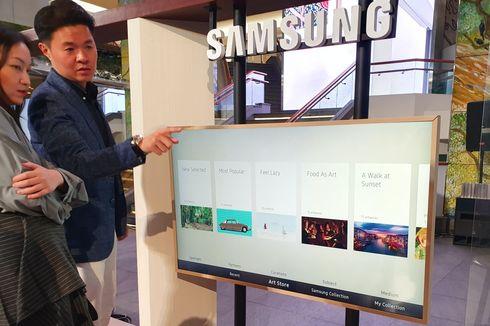 Samsung Indonesia Rilis Dua Smart TV Premium, The Frame dan The Serif