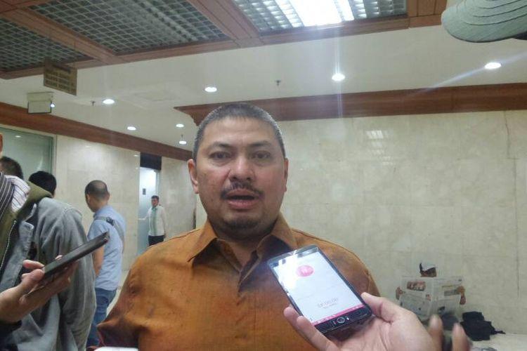 Wakil Ketua Komisi III DPR Mulfachri Harahap di Kompleks Parlemen, Senayan, Jakarta, Senin (5/6/2017).