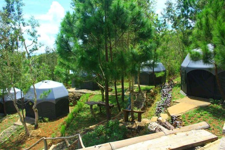 Tenda Glamping Bukit Lintang Sewu