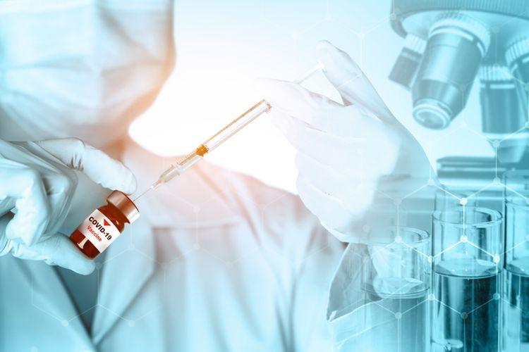 Ilustrasi vaksin Pfizer 90 persen efektif berdasarkan pengamatan dari sekitar 43.000 relawan, hanya 94 orang yang terkonfirmasi Covid-19, sejak pemberian dosis kedua vaksin atau plasebo.