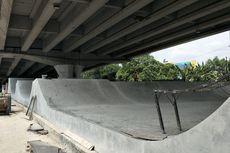 Pembangunan Skatepark di Kolong Flyover Pasar Rebo Hampir Kelar