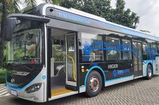 Transjakarta Targetkan 100 Bus Listrik Beroperasi di Jakarta 2021