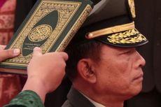 Agus Suhartono-Moeldoko Serah Terima Jabatan Panglima TNI