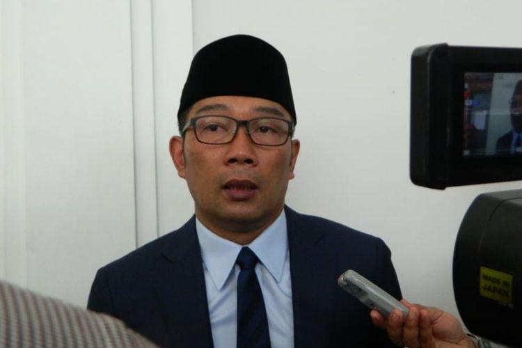 Gubernur Jawa Barat Ridwan Kamil saat ditemui di Gedung Sate, beberapa waktu lalu.