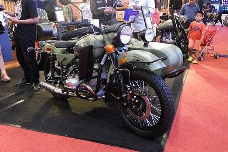 Ural Motorcycle di GIIAS 2016