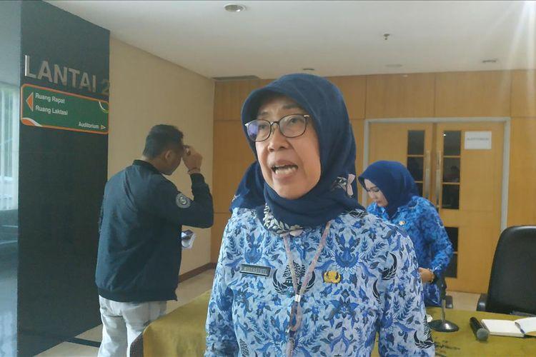 Kepala Dinas Kesehatan DKI Jakart,  Widyastuti, Senin (20/5/2019).