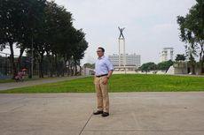 Kunjungi Lapangan Banteng, Ahok Lihat RPTRA hingga Foto Bareng Warga