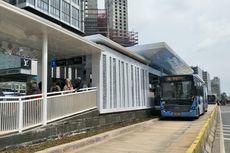 Jalur Lambat di Stasiun MRT Lebak Bulus Akan Dijadikan Busway
