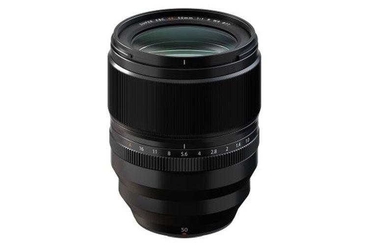 Lensa Fujifilm XF50mm F1.0 R WR dengan autofokus terkencang.