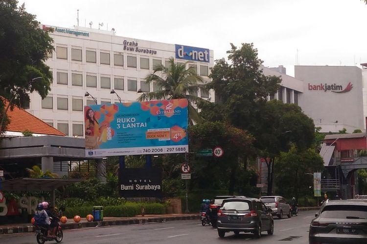 Lokasi OTT KPK terhadap Ketum PPP dan pejabat Kemenag di Jalan Basuki Rahmat Surabaya