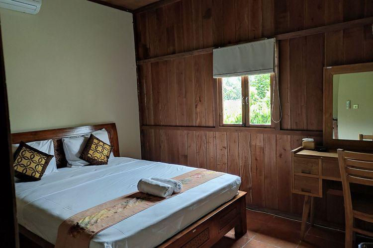 Kamar homestay di Balkondes Karangrejo, Borobudur.