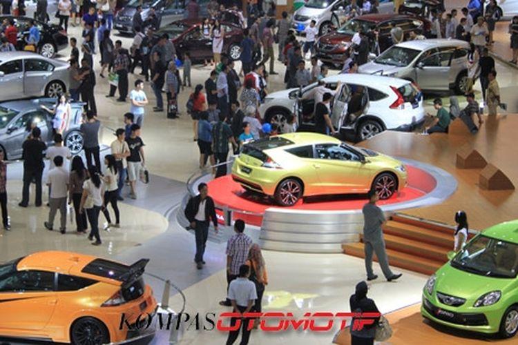 Penjualan mobil Honda di Indonesia