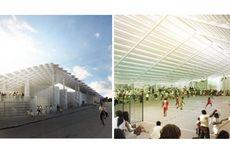 Arsitek Swiss Sukses Bangun Gedung Olahraga di Brasil