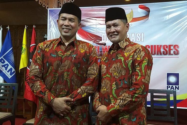 Paslon terpilih pilkada Wonogiri 2020, Joko Sutopo-Setyo Sukarno