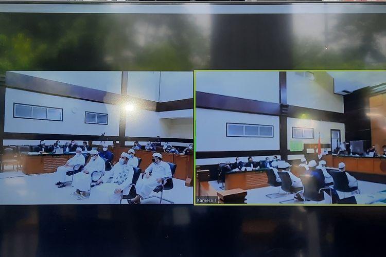 Sidang Rizieq Shihab di Pengadilan Negeri (PN) Jakarta Timur pada hari ini, Senin (10/5/2021).