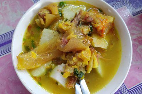 Resep Sop Kikil yang Empuk, Masakan Kaki Sapi Tanpa Santan