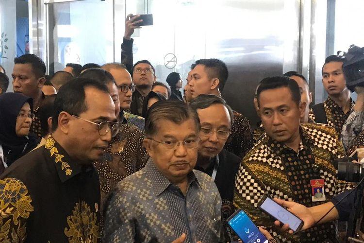 Wakil Presiden RI Jusuf Kalla di Jakarta, Jumat (13/9/2019).