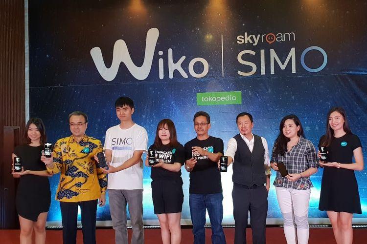 Peluncuran Wiko Tommy 3 dan Tommy 3 Plus di Jakarta, Kamis (1/11/2018).