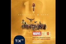 Rayakan 10 Tahun MCU dengan The First Ten Years Movie Marathon