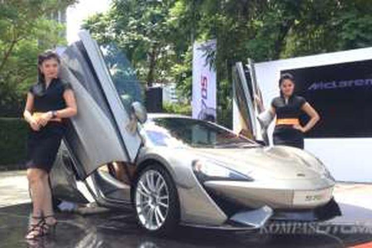 Produk baru McLaren, 570S yang baru diperkenalkan ke Indonesia.