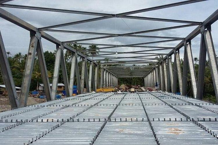 Peningkatan konektivitas jalan dan jembatan di Maluku serta Maluku Utara