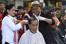 Fakta Kunjungan Jokowi di Garut, Cukur Rambut Massal hingga Tinjau Proyek KA Cibatu-Garut