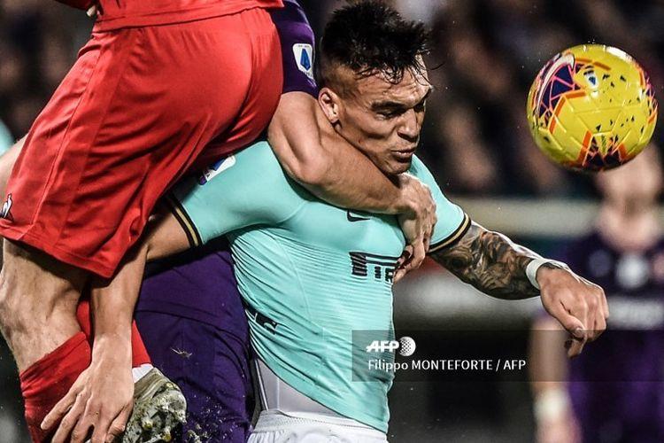 Laga antara Fioretina vs Inter Milan pada lanjutan pekan ke-16 Liga Italia di Stadion Artemio Franchi, Minggu (15/12/2019) atau Senin dini hari WIB
