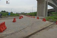 Ada Pemasangan Girder di Proyek KCJB, Lalin Tol Padaleunyi Dialihkan