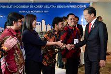 Jokowi Minta Peneliti Indonesia di Korea Pulang dan Bangun Tanah Air