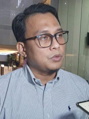 Plt Juru Bicara KPK Ali Fikri di Gedung Merah Putih KPK, Senin (17/2/2020).
