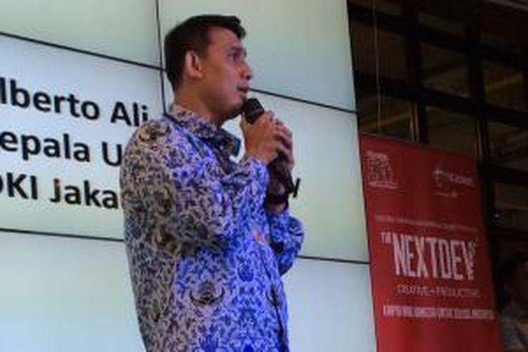 Alberto Ali, Kepala UPT Smart City DKI Jakarta