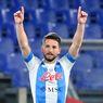 Napoli Vs Lazio - Dries Mertens Cetak Gol Bersejarah, Jauhi Rekor Maradona