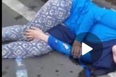 Beredar Video Dua Perempuan Tergeletak di Pinggir Jalan, Ini Penjelasan Polisi