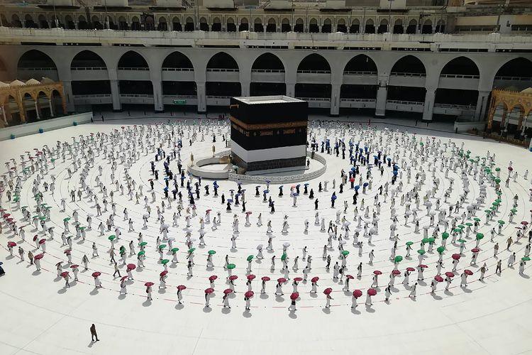 Rangkaian Ibadah Haji 2020 di Tengah Pandemi Covid-19 Telah Dimulai Halaman  all - Kompas.com