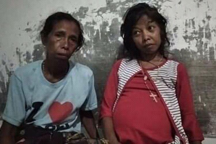 Ermelinda Insana (37), wanita asal Kampung Munda, Desa Gunung Baru, Kecamatan Kota Komba, Manggarai Timur, NTT, alami sakit parah Februari 2020.
