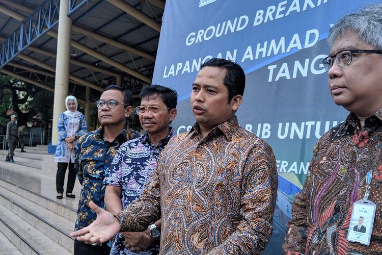 Wali Kota Tangerang Arief Wismansyah saat ditemui di Alun-alun Kota Tangerang, Kamis (5/3/2020)