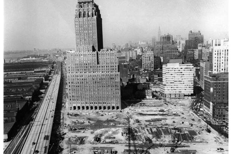 Pembangunan awal WTC