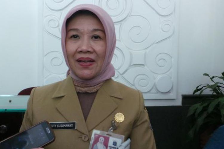 Kepala Badan Perencanaan Pembangunan Daerah (Bappeda) DKI Tuty Kusumawati