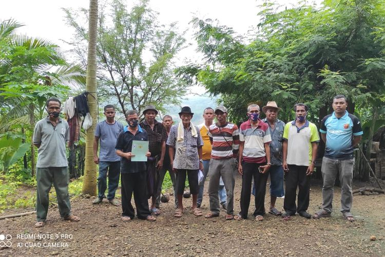 Warga Desa Kuaklalo, Kecamatan Taebenu, Kabupaten Kupang, Nusa Tenggara Timur (NTT), hingga saat ini belum mendapatkan biaya ganti rugi pembangunan Bendungan Manikin.