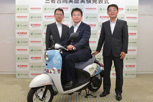 Demi Motor Listrik, Honda dan Yamaha