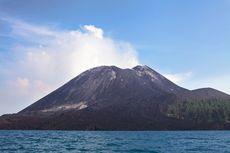 Erupsi Anak Krakatau Setinggi 300 Meter, PVMBG: Tidak Terdengar Dentuman