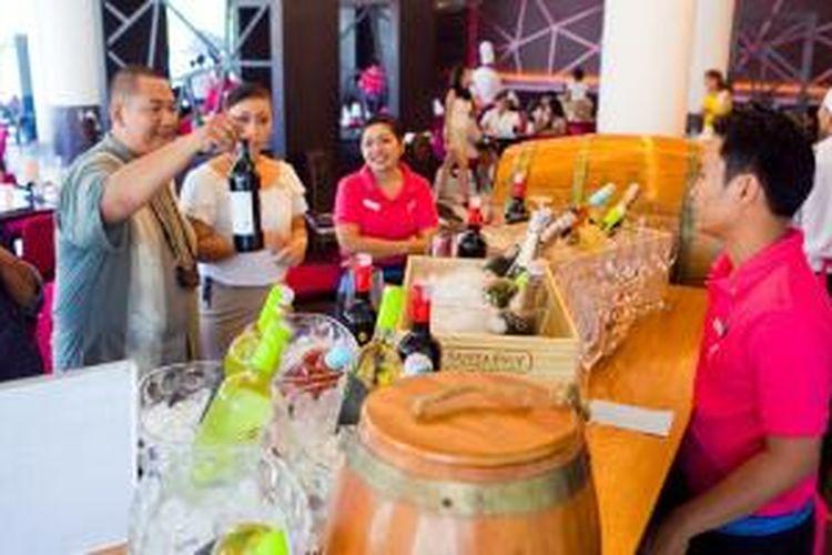 Stan Wine di Sunday Market Brunch, Sheraton Bali Kuta Resort.