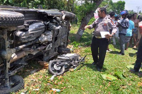 Bocah 14 Tahun Sopiri Pikap, Menabrak Pengendara Motor hingga Tewas